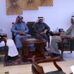 معالي مدير جامعة الطائف يزور الصندوق