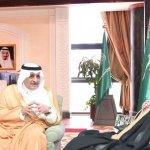 أمير منطقة تبوك يستقبل الأمين العام لصندوق التعليم العالي الجامعي